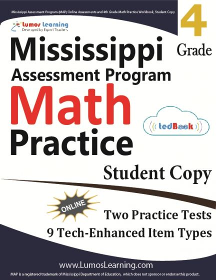 Mississippi Assessment Program (MAP) Practice tedBook® - Grade 4 ...