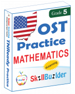 Lumos StepUp SkillBuilder + Test Prep for OST: Online Practice Assessments and Workbooks - Grade 5 Math