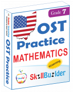 Lumos StepUp SkillBuilder + Test Prep for OST: Online Practice Assessments and Workbooks - Grade 7 Math