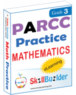 Lumos StepUp SkillBuilder + Test Prep for PARCC: Online Practice Assessments and Workbooks - Grade 3 Math