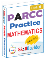 Lumos StepUp SkillBuilder + Test Prep for PARCC: Online Practice Assessments and Workbooks - Grade 4 Math