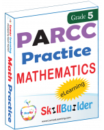 Lumos StepUp SkillBuilder + Test Prep for PARCC: Online Practice Assessments and Workbooks - Grade 5 Math