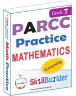 Lumos StepUp SkillBuilder + Test Prep for PARCC: Online Practice Assessments and Workbooks - Grade 7 Math
