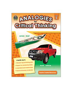 Analogies for Critical Thinking (Gr. 5)