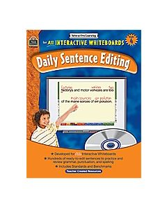 Interactive Learning: Daily Sentence Editing (Gr. 4)