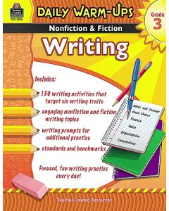 Daily Warm Ups: Nonfiction & Fiction Writing (Gr. 3)