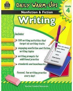 Daily Warm Ups: Nonfiction & Fiction Writing (Gr. 4)