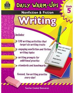Daily Warm Ups: Nonfiction & Fiction Writing (Gr. 5)