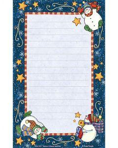 Snowmen Notepad