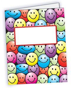 Smiley Faces Pocket Folder
