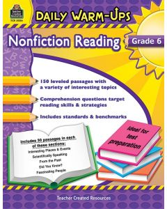 Daily Warm-Ups: Nonfiction Reading (Gr. 6)