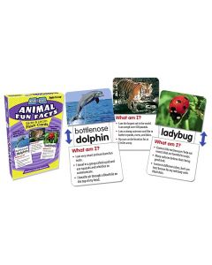 Animal Fun Facts Slide & Learn Flash Cards