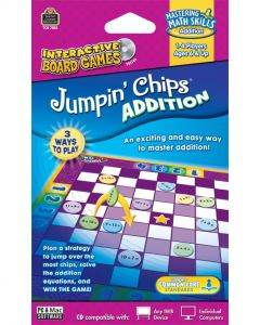Jumpin Chips: Addition Interactive Game CD