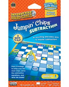 Jumpin Chips: Subtraction Interactive Game CD