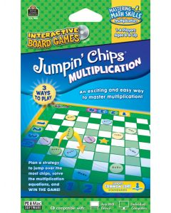 Jumpin Chips: Multiplication Interactive Game CD