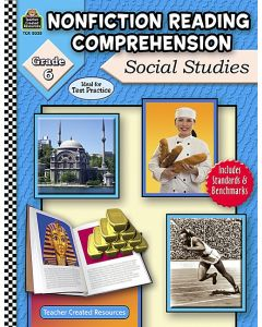 Nonfiction Reading Comprehension: Social Studies (Gr. 6)