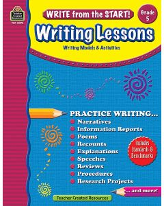 Write from the Start! Writing Lessons (Gr. 5)