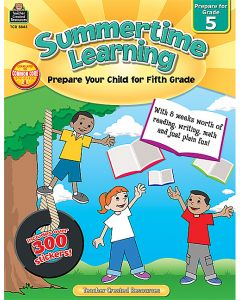 Summertime Learning Grade 5