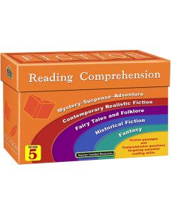 Fiction Reading Comprehension Cards (Gr. 5)