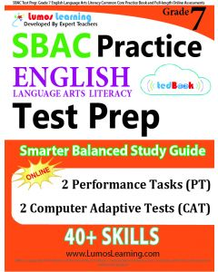 SBAC Practice tedBook® - Grade 7 ELA, Teacher Copy