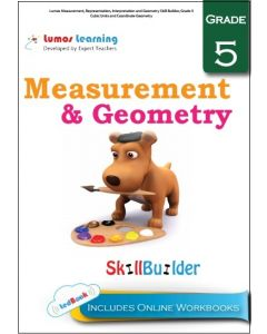 Lumos Measurement, Representation, Interpretation and Geometry Skill Builder, Grade 5 - Cubic Units and Coordinate Geometry - Teacher  Copy