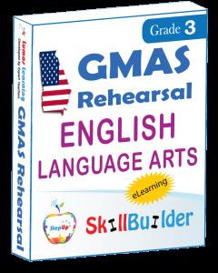 Lumos StepUp SkillBuilder + Test Prep for GMAS: Online Practice Assessments and Workbooks - Grade 3 ELA