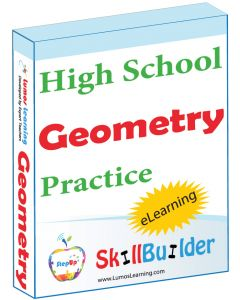 Lumos StepUp SkillBuilder High School Geometry Online Practice