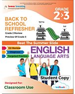Back to School Refresher tedBook - Grade 2>3 ELA, Student Copy