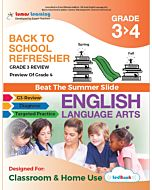 Back to School Refresher tedBook - Grade 3>4 ELA, Teacher Copy