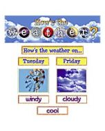 How's the Weather? Mini Bulletin Board
