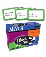 I Have, Who Has Math Game (Gr.4-5)