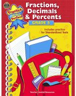 Fractions, Decimals & Percents (Gr. 5)