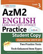 AzM2 Practice tedBook® - Grade 3 ELA, Student Copy