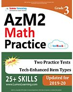 AZM2 Practice tedBook® - Grade 3 Math, Teacher Copy