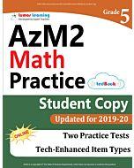 AzM2 Practice tedBook® - Grade 5 Math, Student Copy