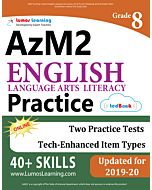 AzM2 Practice tedBook® - Grade 8 ELA, Teacher Copy