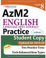 AzM2 Practice tedBook® - Grade 8 ELA, Student Copy
