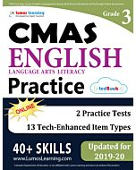 CMAS Practice tedBook® - Grade 3 ELA, Teacher Copy