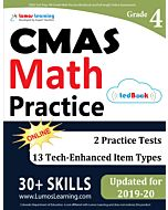 CMAS Practice tedBook® - Grade 4 Math, Teacher Copy