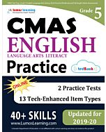 CMAS Practice tedBook® - Grade 5 ELA, Teacher Copy