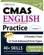 CMAS Practice tedBook® - Grade 7 ELA, Teacher Copy