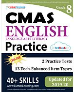 CMAS Practice tedBook® - Grade 8 ELA, Teacher Copy