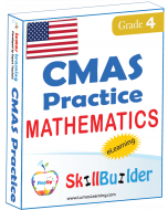 Lumos StepUp SkillBuilder + Test Prep for CMAS: Online Practice Assessments and Workbooks - Grade 4 Math