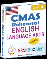 Lumos StepUp SkillBuilder + Test Prep for CMAS: Online Practice Assessments and Workbooks - Grade 4 ELA
