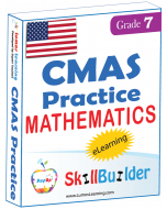 Lumos StepUp SkillBuilder + Test Prep for CMAS: Online Practice Assessments and Workbooks - Grade 7 Math