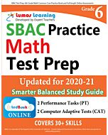 SBAC Practice tedBook® - Grade 6 Math, Teacher Copy
