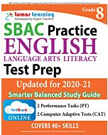 SBAC Practice tedBook® - Grade 8 ELA, Teacher Copy