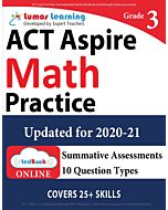 ACT Aspire Practice tedBook® - Grade 3 Math, Teacher Copy