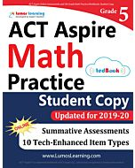 ACT Aspire Practice tedBook® - Grade 5 Math, Student Copy