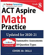 ACT Aspire Practice tedBook® - Grade 8 Math, Teacher Copy